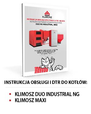 Instrukcja obsługi KLIMOSZ DUO INDUSTRIAL NG i MAXI
