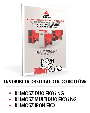 Instrukcja obsługi KLIMOSZ DUO, MULTIDUO i IRON EKO