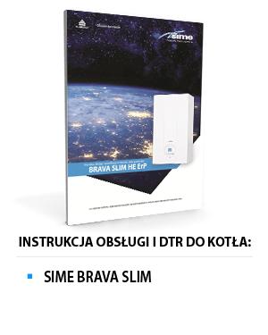 Instrukcja obsługi SIME BRAVA SLIM