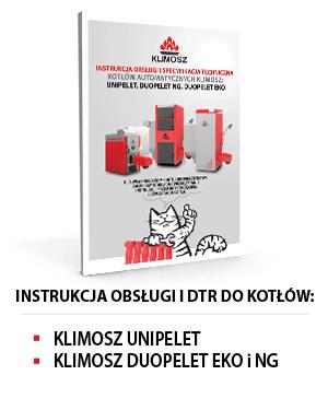 Instrukcja obsługi KLIMOSZ UNIPELET i DUOPELET