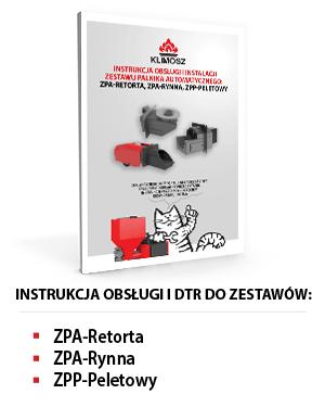 Instrukcja obsługi ZPA-Retorta, ZPA-Rynna i ZPP