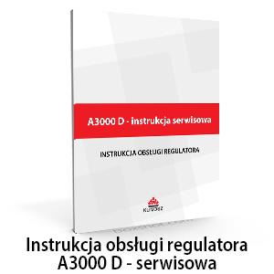 instrukcja regulatora a3000d serwisowa