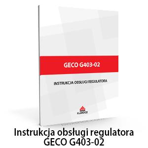 instrukcja regulatora g403