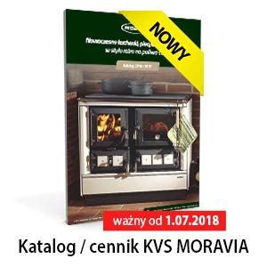 KVS MORAVIA KATALOG/CENNIK ważny od 1.07.2018